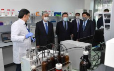 Kassym-Jomart Tokayev visited the National Centre for Biotechnology