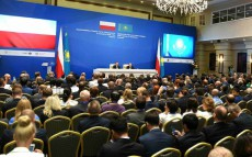 Participation in the Kazakh-Polish business forum