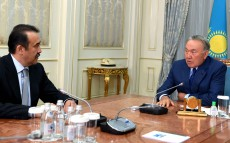 Meeting with Karim Massimov, Chairman of the National Security Committee