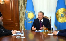 Meeting with Metropolitan Alexander of Astana and Kazakhstan