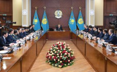 The Cabinet's expanded meeting chaired by the Head of State